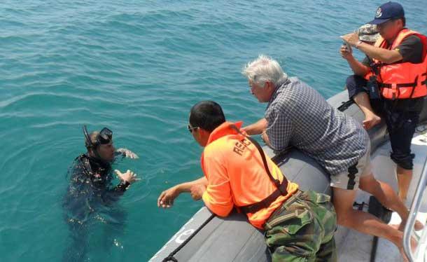 Россиянин проплыл без остановки 50 км вокруг острова Ко-Чанг