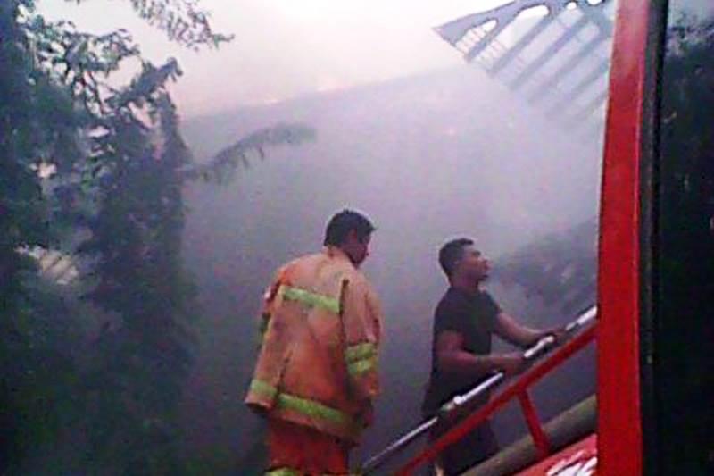 Пожар уничтожил крышу Phuket Peninsula Spa and Resort