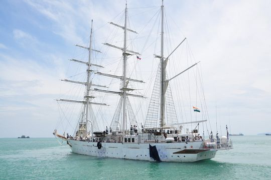 Парусник ВМС Индии пришел на Пхукет