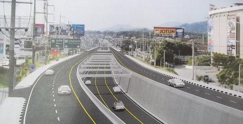 Тоннель у Central Festival откроют к началу 2014 года