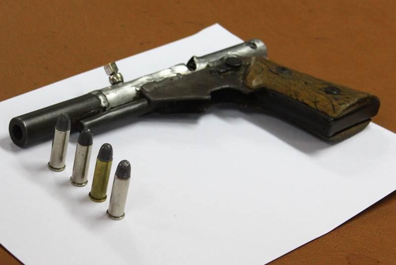 Орудием убийства стал самодельный пистолет
