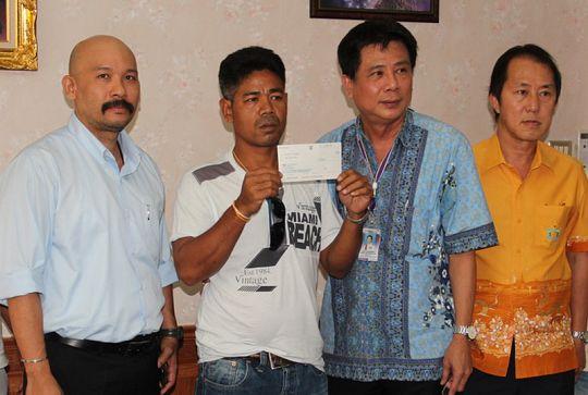 Тайцу выплатили 100 тысяч бат за смерть жены и сына