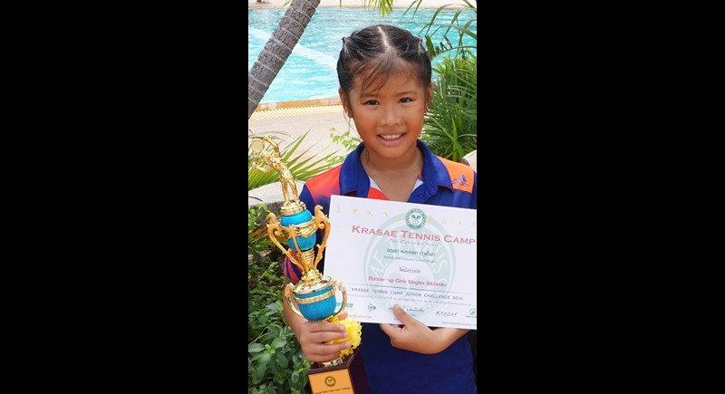 Учащаяся BISP взяла серебро на теннисном турнире в Бангкоке