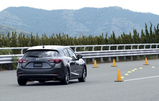 Новая Mazda 3. Фото: Mazda / Bangkok Post