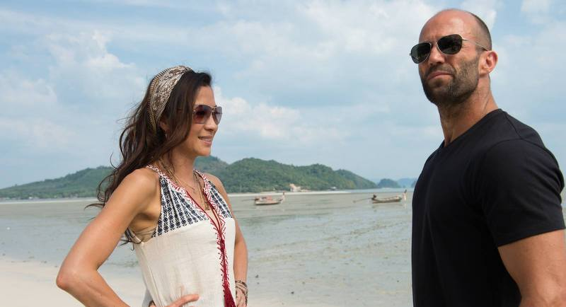 Джейсон Стэйтем и Джессика Альба на съемках «Механика» в Таиланде. Фото: Jason Statham / JStatham.com