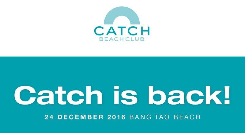 Пляжный клуб Catch откроется на Банг-Тао
