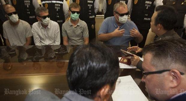 Четверо россиян будут депортированы из Таиланда