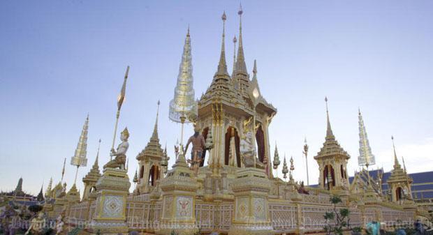 Королевский крематорий в Бангкоке откроют для публики со 2 ноября