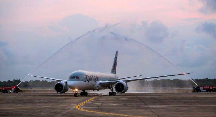 Qatar Airways начала летать в Паттайю