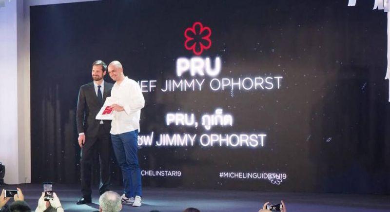 Ресторан PRU на Пхукете получил звезду Мишлен
