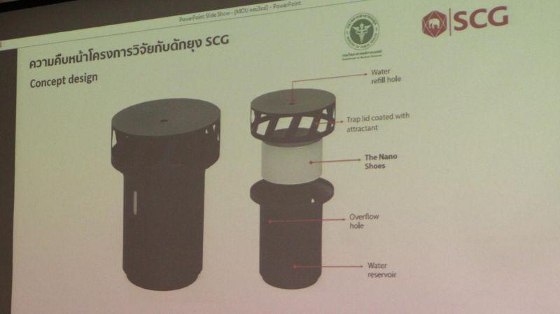 SCG Chemicals презентовала новую технологию борьбы с разносчиками вируса денге