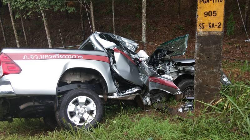 Сотрудник полиции погиб в ДТП на служебном автомобиле