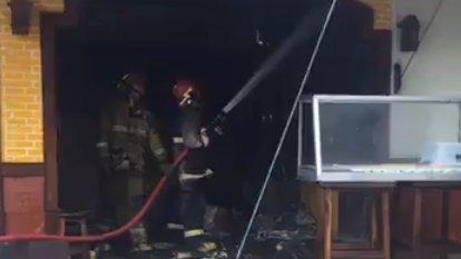 В ресторане в Самконге произошел пожар