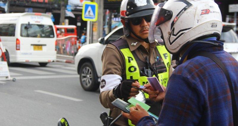 Таиланд вводит балльную систему штрафов за нарушения ПДД