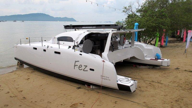 Asia Catamarans спустила на воду катамараны Fez и Coconuts. Фото: Питер Смит